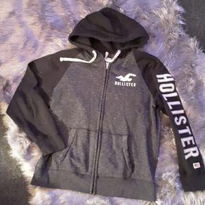 Hollister zip up hoodie